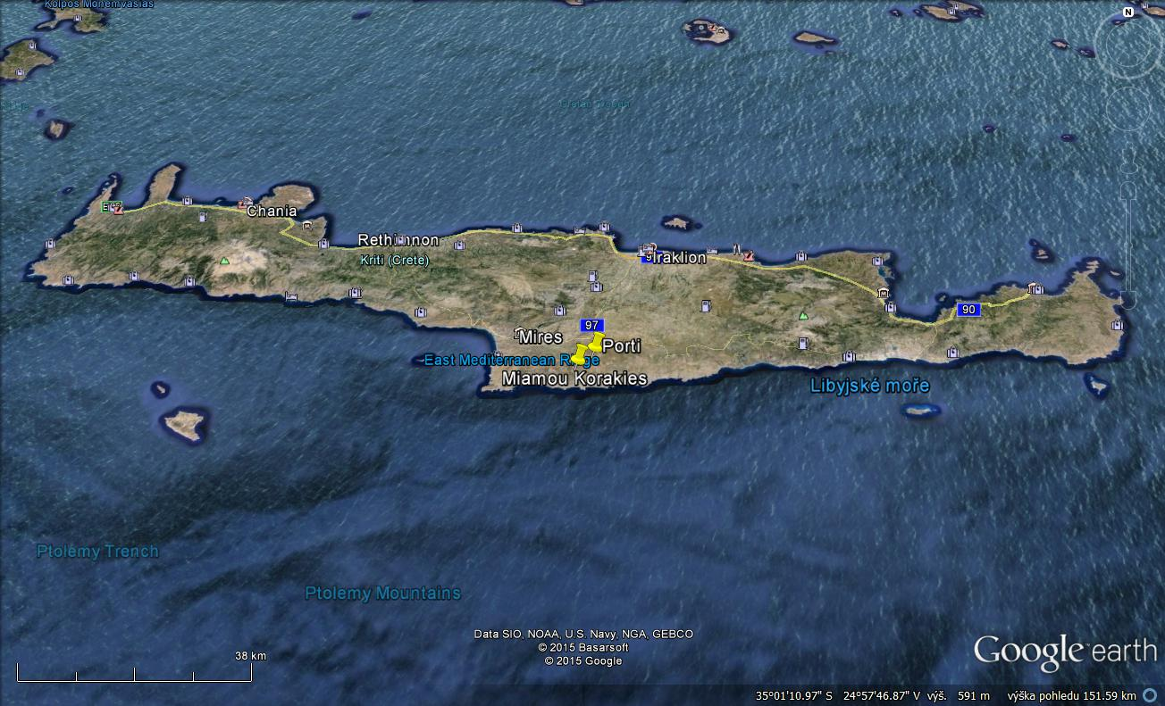 CCMA is preparing a fieldwork project in Crete for this summer