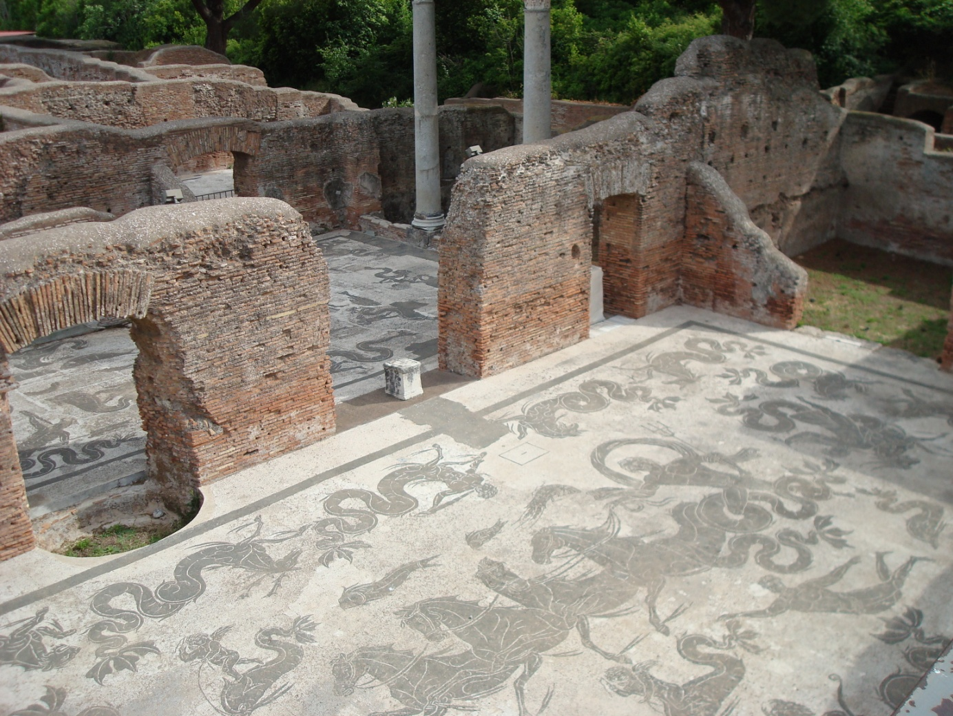 Ostia Antica Project (Italy) – creation of a guidebook through the archaeological site in Czech language