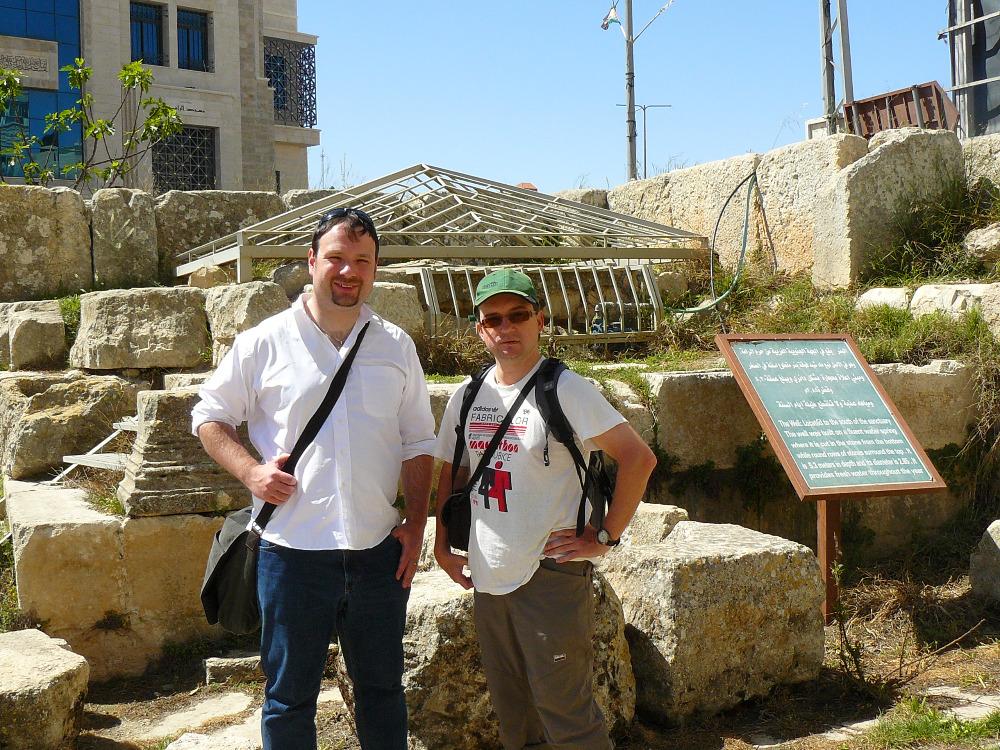Vlastimil Drbal gave an invited lecture in Jerusalem