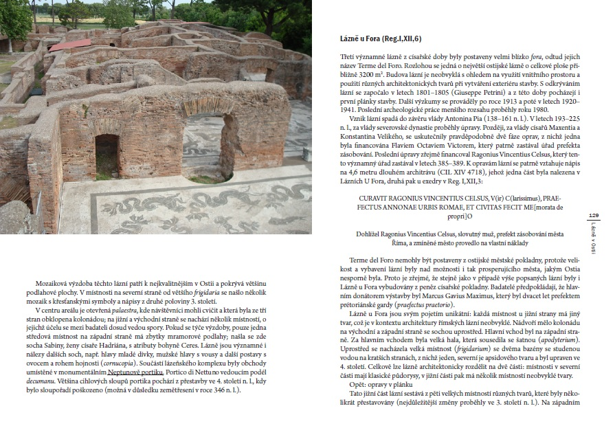 The guidebook on the Ancient Ostia, written by Pavel Hlinovský, will be soon ready for print!!